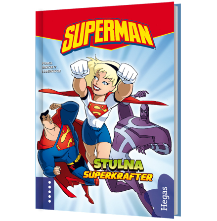 Superman ? Stulna superkrafter (Bok+CD)