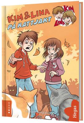 Kim & Lina på kattjakt (Bok+CD)