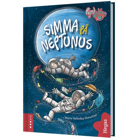 Rymdklubben E.T. - Simma på Neptunus (Bok+CD)
