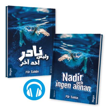 Tvillingpaket: Nadir och ingen annan / svenska+arabiska (Bok+CD)