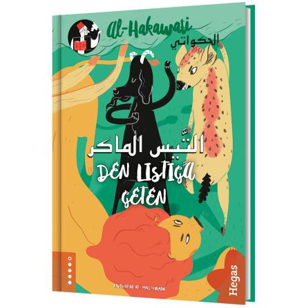 al-Hakawati: Den listiga geten / arabiska (Bok+CD)