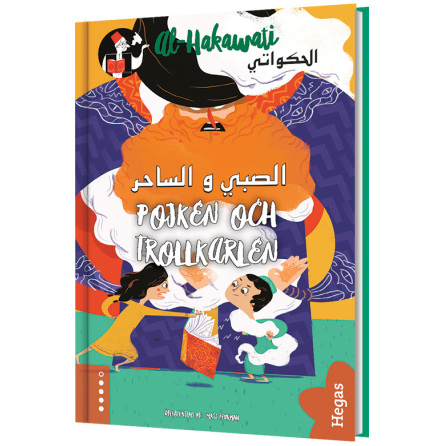 al-Hakawati: Pojken och trollkarlen (Bok+CD)