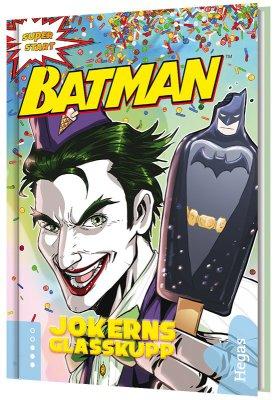 Batman ? Jokerns glasskupp (Bok+CD)