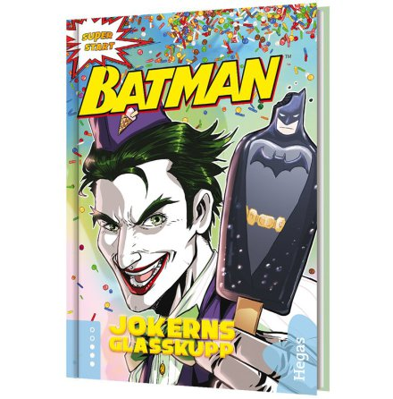 Batman – Jokerns glasskupp (Bok+CD)