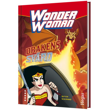 Wonder Woman - Drakens svärd (Bok+CD)