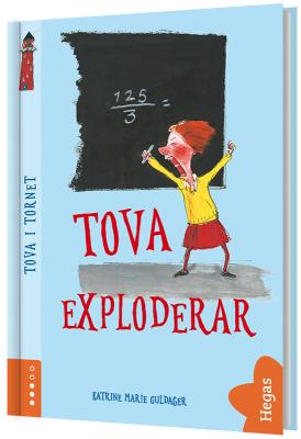Tova exploderar (Bok+CD)