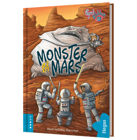 Rymdklubben ET 2 / Monster på Mars (Bok+CD)