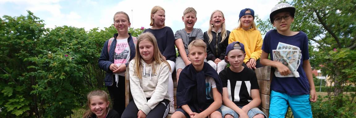 Klass 5 - 6 på Vrena friskola vinner Hegas tävling!