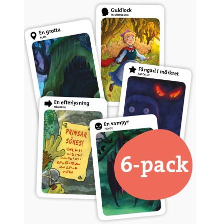Skruvade sagor 6-pack