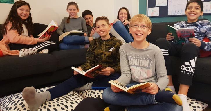 Stipendiet går till Bokklubbar på Österportskolan i Malmö