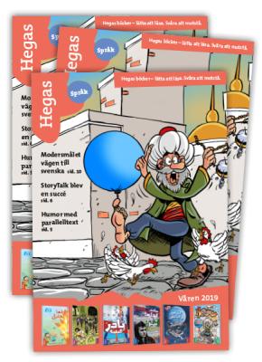 Hegas språk-katalog 2019<br>Beställ eller förhandsläs!