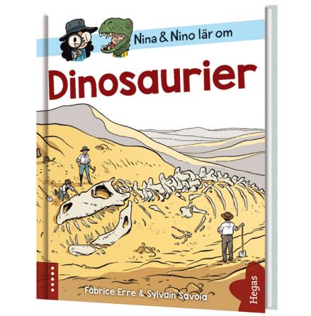 Nina och Nino lär om dinosaurier