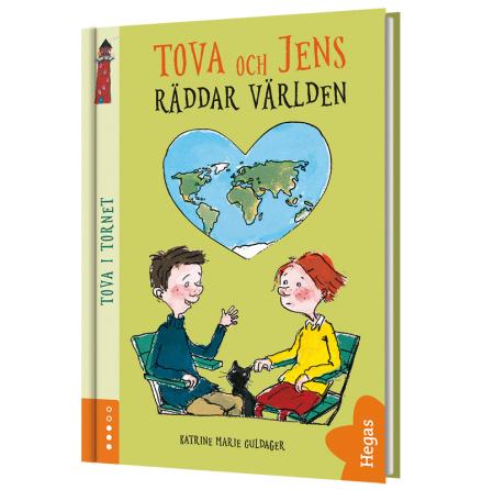 Tova och Jens räddar världen (Bok+CD)