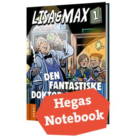 Anteckningsbok – Lisa & Max