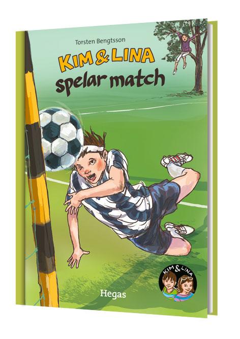 Kim & Lina spelar match (bok + cd) av Torsten Bengtsson