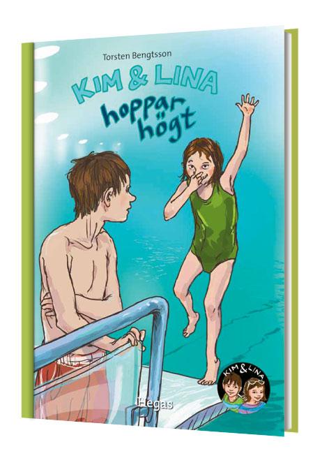 Kim & Lina hoppar högt (bok + cd) av Torsten Bengtsson