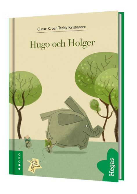 Hugo och Holger (Bok+CD) av Oscar K.
