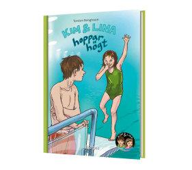 Kim & Lina hoppar högt (Bok+CD)