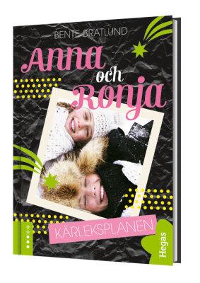 Anna och Ronja  Kärleksplanen  bok+CD