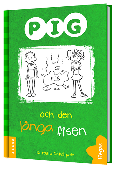 Pig och den långa fisen (Bok+CD) av Barbara Catchpole