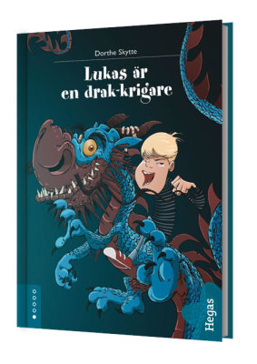 Lukas är en drakkrigare (Bok+CD)