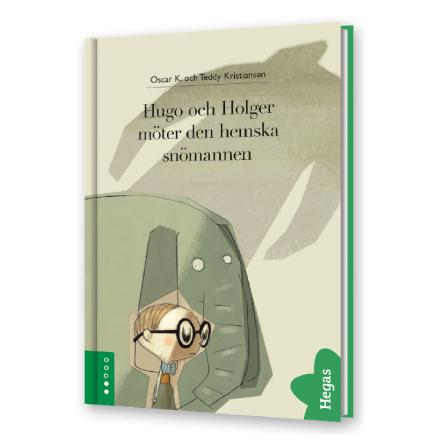 Hugo och Holger möter den hemska snömannen - bok+cd