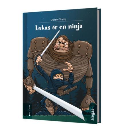 Lukas är en ninja Bok+CD