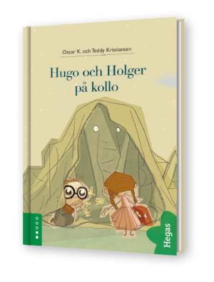 Hugo och Holger på kollo (Bok+CD)