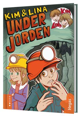 Kim & Lina under jorden (Bok+CD)
