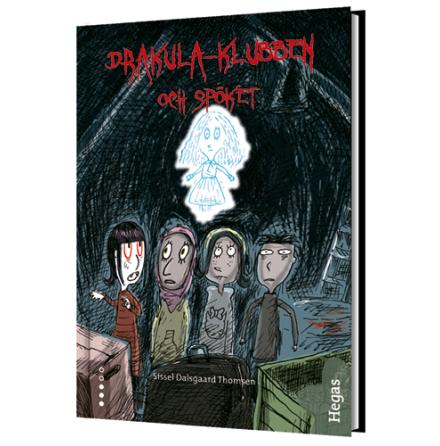 Drakulaklubben spöket Bok+CD