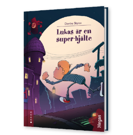 Lukas är en superhjälte (Bok+CD)