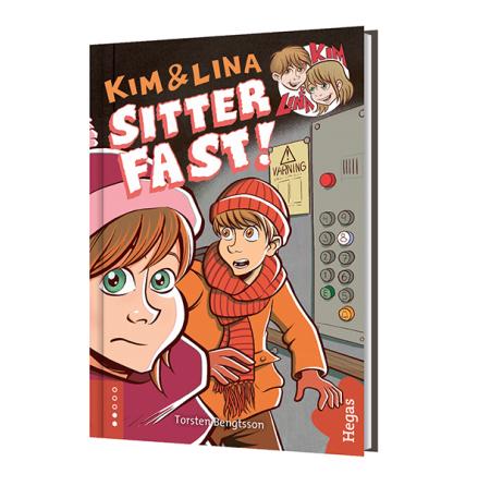 Kim & Lina sitter fast (Bok+CD