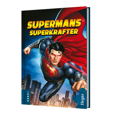 Supermans superkrafter (Bok+CD)