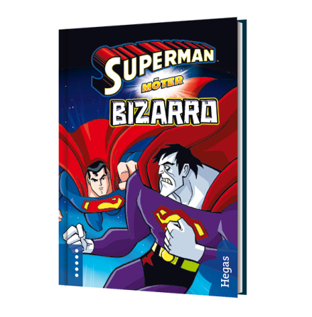 Superman möter Bizarro (Bok+CD