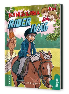 Kim & Lina rider iväg (Bok+CD