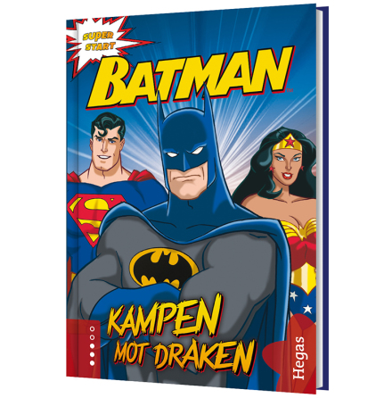 Batman - Kampen mot draken (Bok+CD)