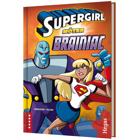 Supergirl möter Brainiac (Bok+CD)