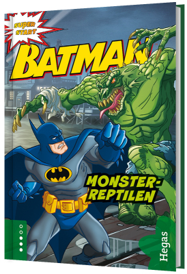Batman - Monsterreptilen (Bok+CD)