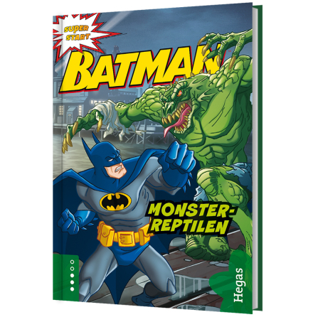 Batman ? Monsterreptilen (Bok+CD)