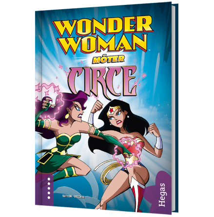 Wonder Woman möter Circe (Bok+CD)
