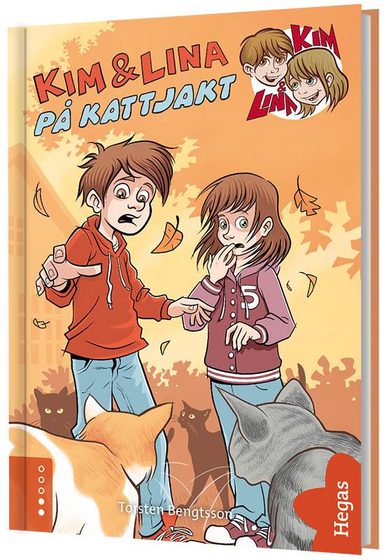 Kim & Lina på kattjakt (Bok+CD) av Torsten Bengtsson