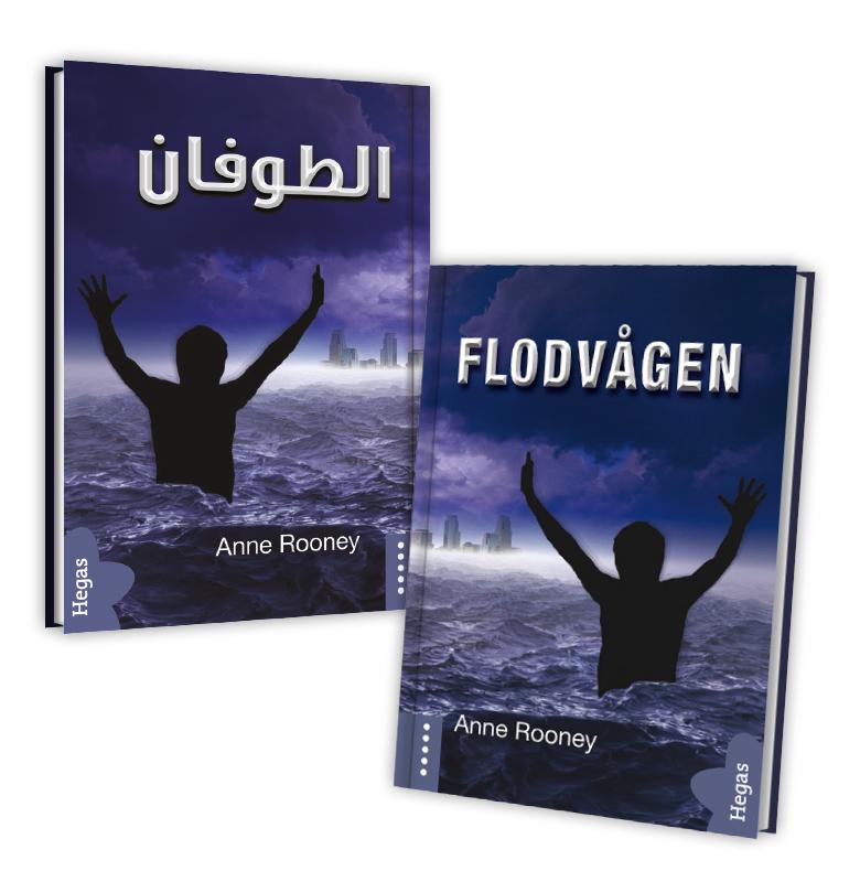 Flodvågen (Tvillingpaket svenska+arabiska) av Anne Rooney